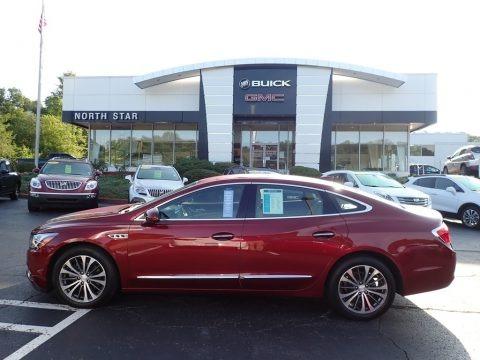 Crimson Red Tintcoat 2017 Buick LaCrosse Essence