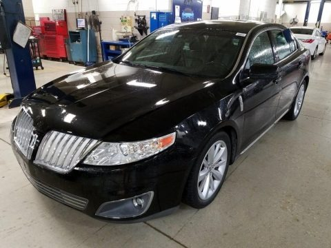 Tuxedo Black Metallic 2009 Lincoln MKS AWD Sedan