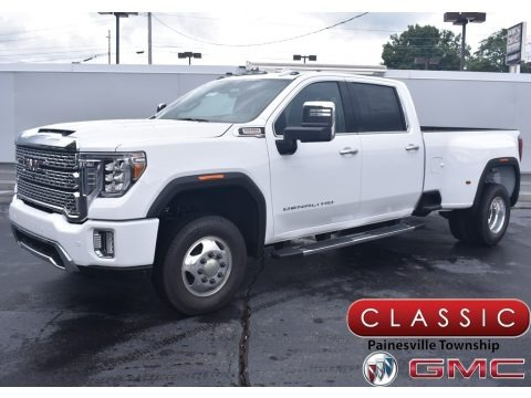 Summit White 2020 GMC Sierra 3500HD Denali Crew Cab 4WD