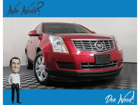 Crystal Red Tintcoat 2013 Cadillac SRX Luxury AWD