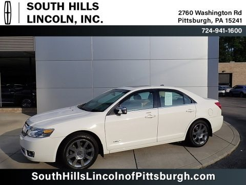 White Suede 2008 Lincoln MKZ AWD Sedan
