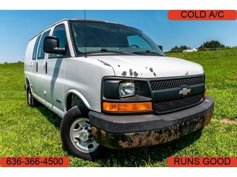 Summit White 2005 Chevrolet Express 2500 Commercial Van