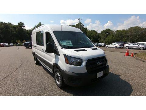 Oxford White 2020 Ford Transit Van 250 MR Long