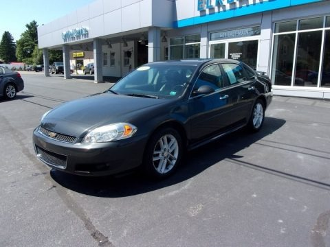 Ashen Gray Metallic 2013 Chevrolet Impala LTZ