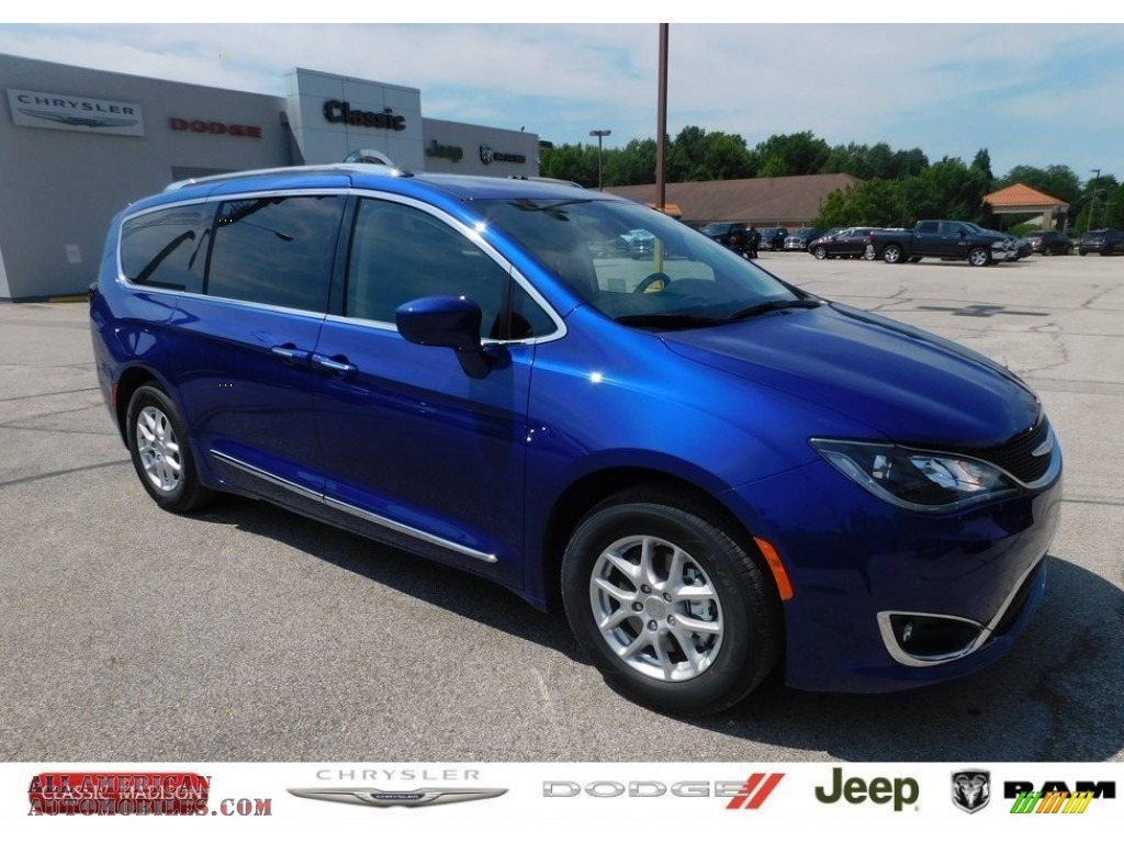 2020 Pacifica Touring L - Ocean Blue Metallic / Alloy/Black photo #1