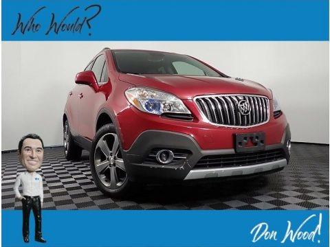 Ruby Red Metallic 2013 Buick Encore Convenience AWD