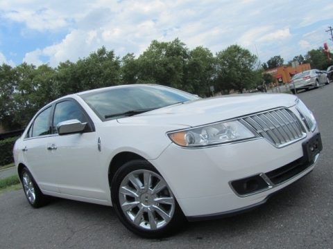 White Platinum Tri-Coat 2010 Lincoln MKZ FWD
