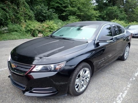 Black 2014 Chevrolet Impala LS