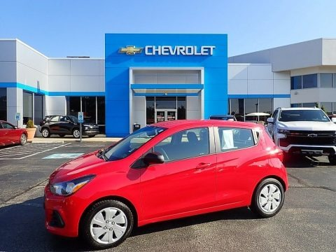 Red Hot 2017 Chevrolet Spark LS