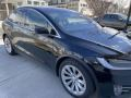 Tesla Model X 75D Solid Black photo #3