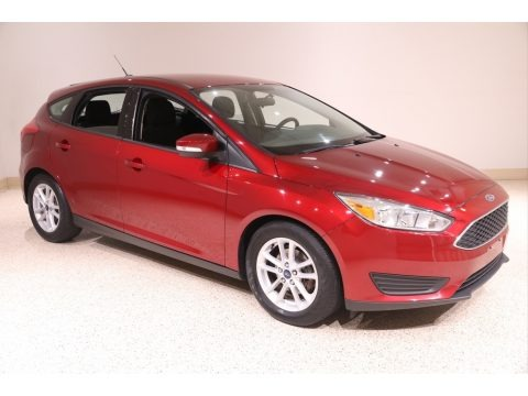 Ruby Red 2017 Ford Focus SE Hatch
