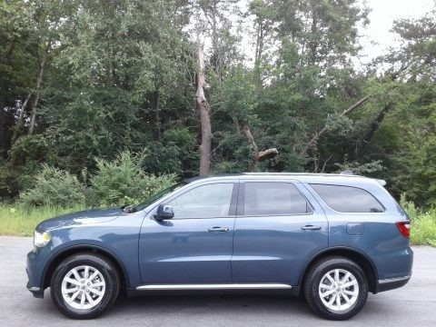 Reactor Blue Pearl 2020 Dodge Durango SXT