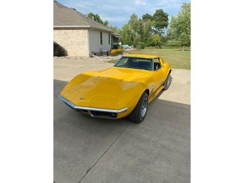 Daytona Yellow 1969 Chevrolet Corvette Coupe
