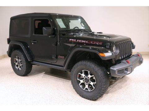 Black 2020 Jeep Wrangler Rubicon 4x4
