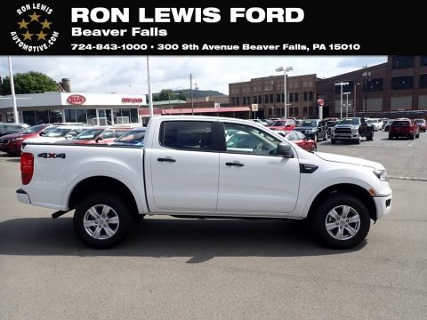 Oxford White 2020 Ford Ranger XLT SuperCrew 4x4