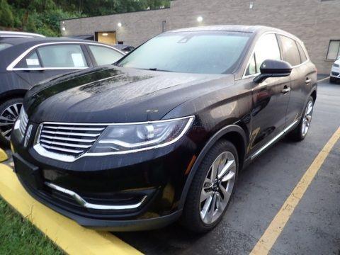 Diamond Black 2017 Lincoln MKX Reserve AWD