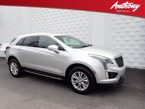 Radiant Silver Metallic 2020 Cadillac XT5 Luxury AWD