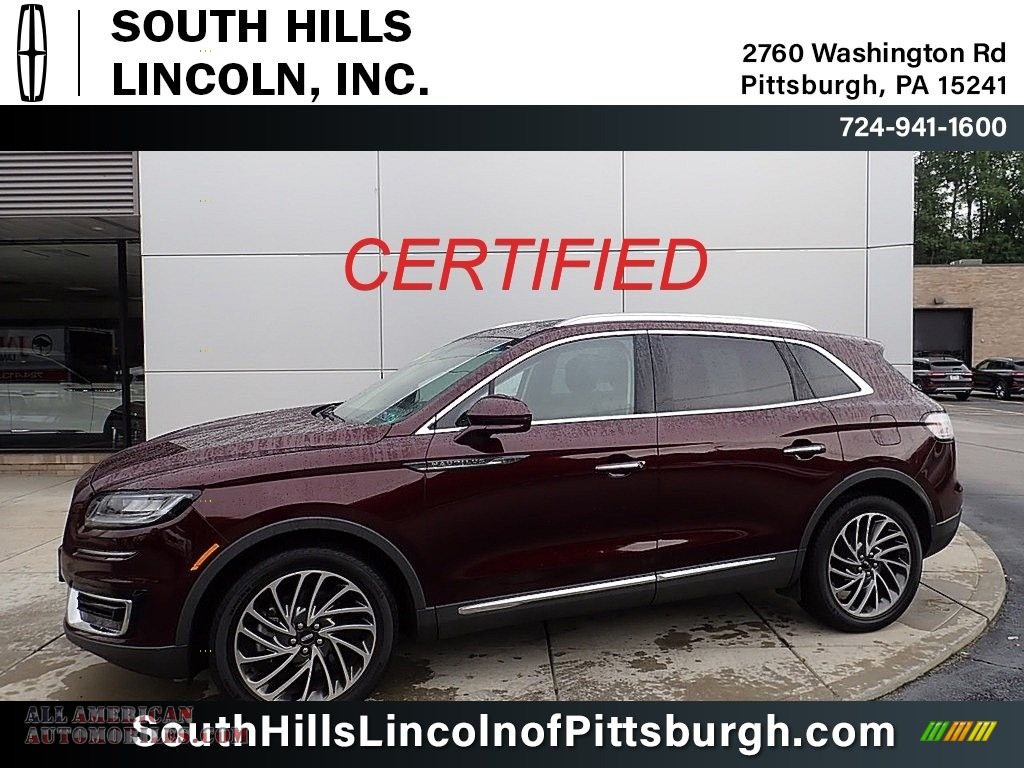 2020 Nautilus Reserve AWD - Burgundy Velvet / Coffee photo #1