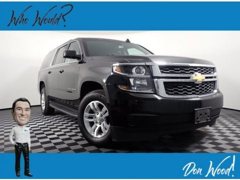 Black 2020 Chevrolet Suburban LT 4WD