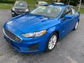 Ford Fusion Hybrid SE Velocity Blue photo #2