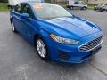 Ford Fusion Hybrid SE Velocity Blue photo #4