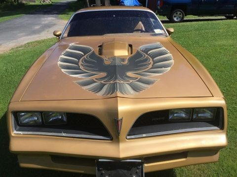 Solar Gold 1978 Pontiac Firebird Trans Am Coupe