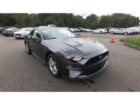 Magnetic 2020 Ford Mustang EcoBoost Fastback