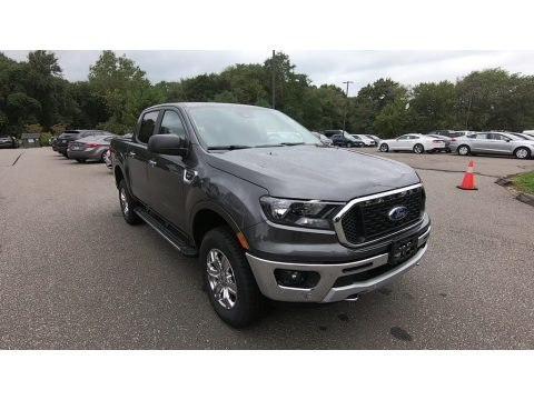 Magnetic 2020 Ford Ranger XLT SuperCrew 4x4