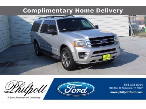 Ingot Silver Metallic 2016 Ford Expedition EL XLT