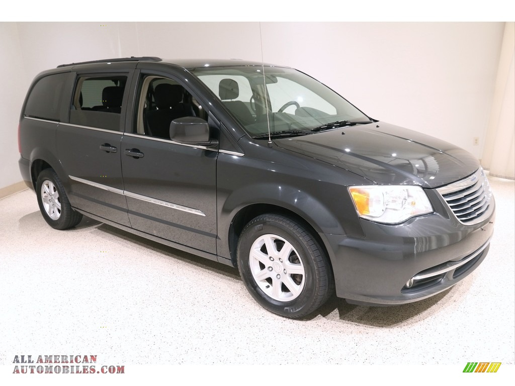 2011 Town & Country Touring - Dark Charcoal Pearl / Black/Light Graystone photo #1