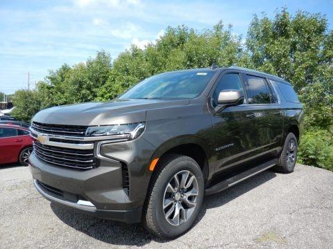 Graywood Metallic 2021 Chevrolet Suburban LT 4WD