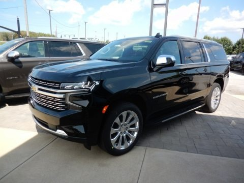 Black 2021 Chevrolet Suburban Premier 4WD