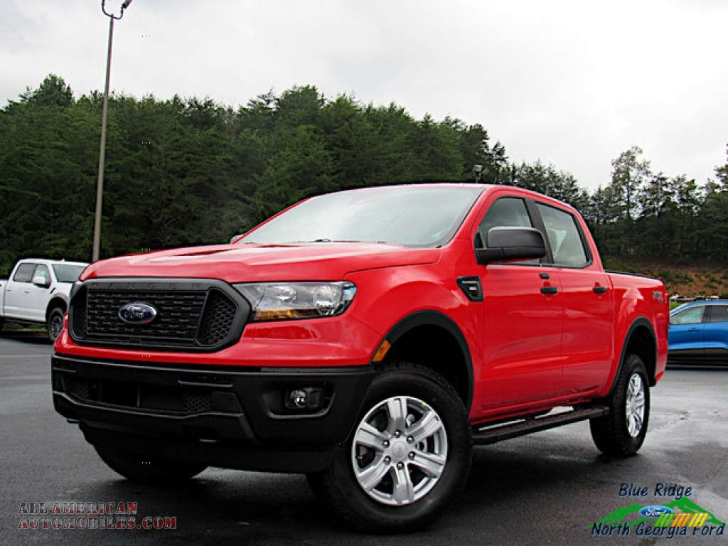 2020 Ranger STX SuperCrew 4x4 - Race Red / Ebony photo #1