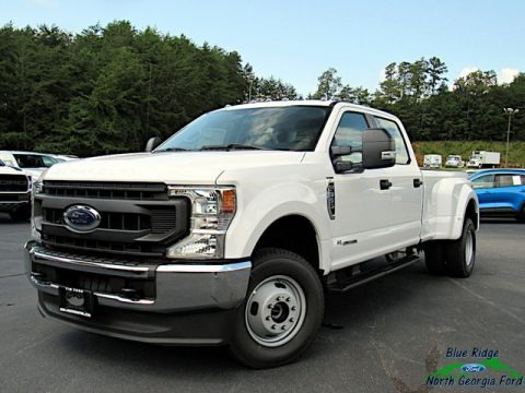 Oxford White 2020 Ford F350 Super Duty XL Crew Cab 4x4