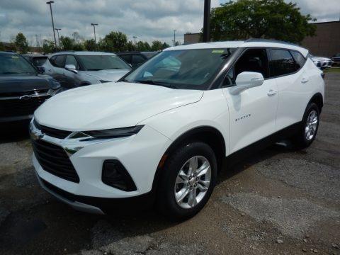 Summit White 2020 Chevrolet Blazer LT