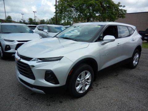 Silver Ice Metallic 2020 Chevrolet Blazer LT