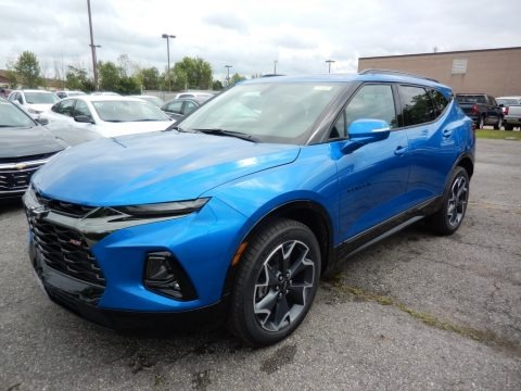 Bright Blue Metallic 2020 Chevrolet Blazer RS
