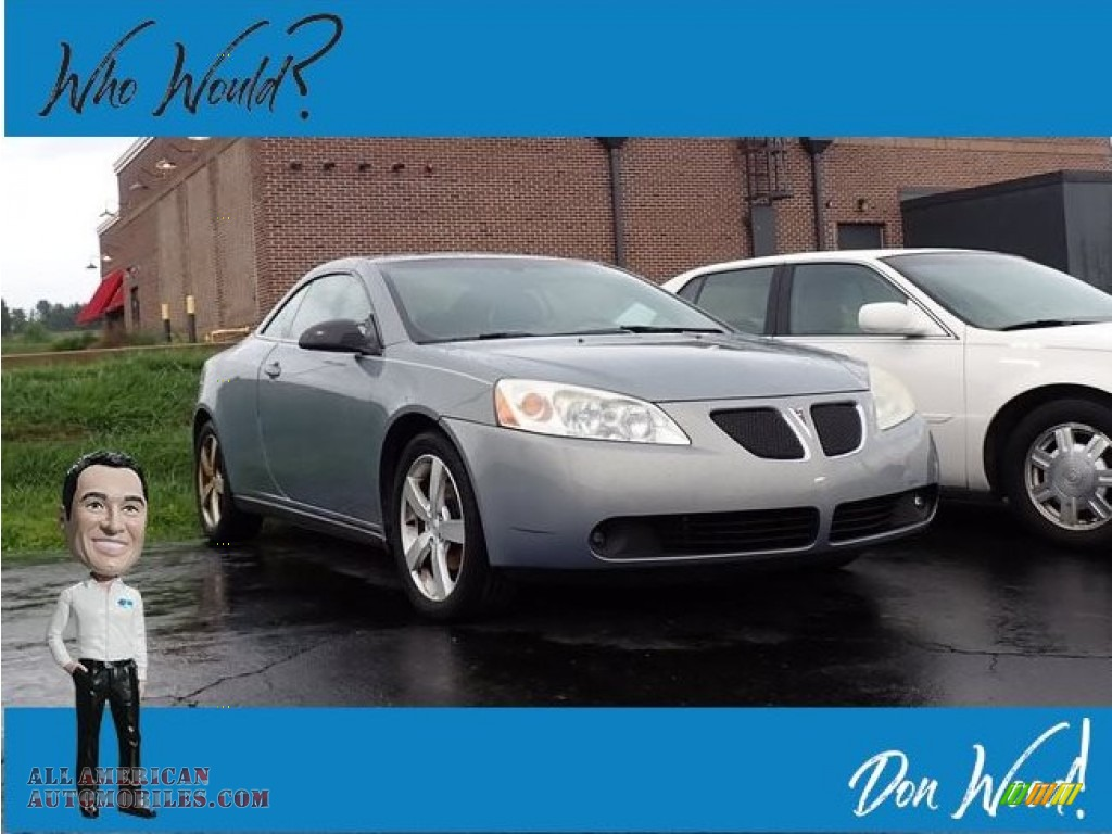 2007 G6 GT Convertible - Blue Gold Crystal Metallic / Light Taupe photo #1