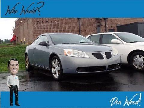 Blue Gold Crystal Metallic 2007 Pontiac G6 GT Convertible