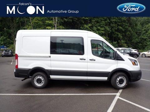 Oxford White 2020 Ford Transit Van 250 MR Regular