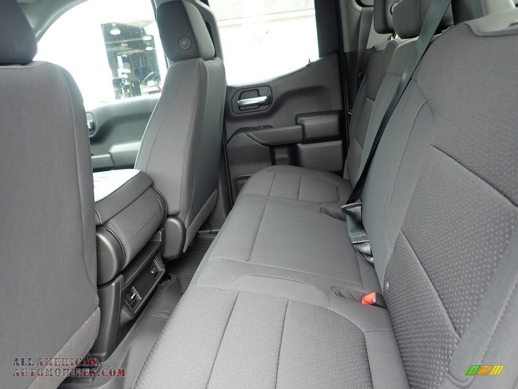 2020 Silverado 1500 Custom Trail Boss Double Cab 4x4 - Satin Steel Metallic / Jet Black photo #13