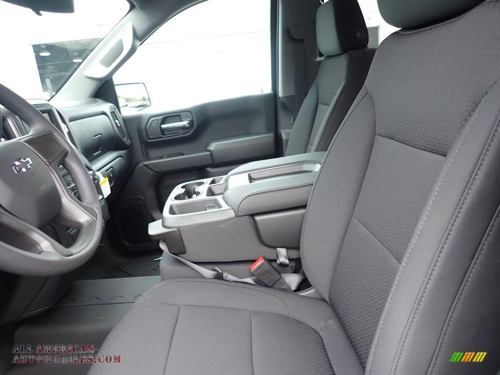 2020 Silverado 1500 Custom Trail Boss Double Cab 4x4 - Satin Steel Metallic / Jet Black photo #15