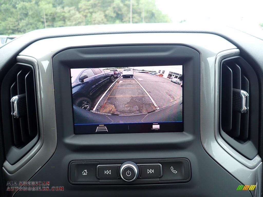 2020 Silverado 1500 Custom Trail Boss Double Cab 4x4 - Satin Steel Metallic / Jet Black photo #18