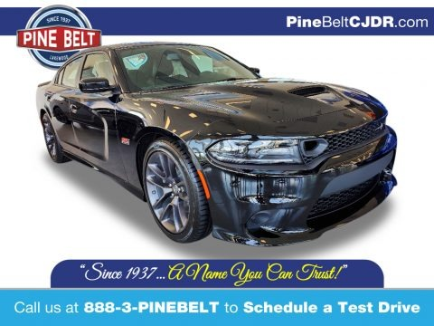Pitch Black 2020 Dodge Charger R/T Scat Pack
