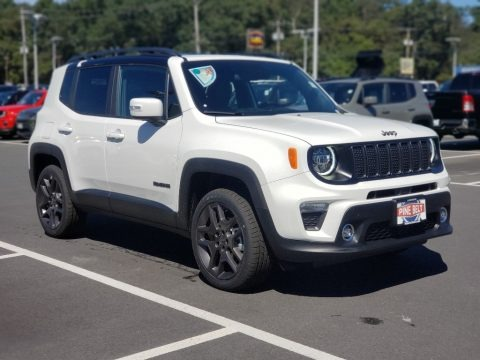 Alpine White 2020 Jeep Renegade Limited 4x4
