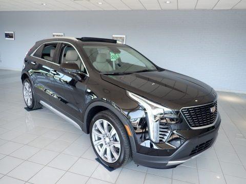 Stellar Black Metallic 2020 Cadillac XT4 Premium Luxury