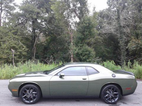 F8 Green 2020 Dodge Challenger SXT