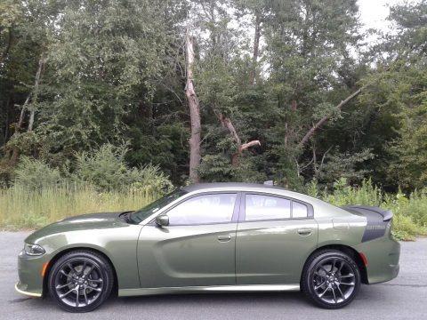 F8 Green 2020 Dodge Charger Daytona