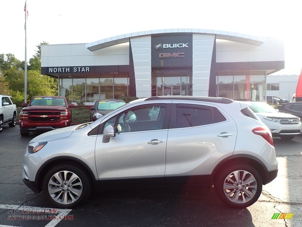 2019 Encore Preferred AWD - Quicksilver Metallic / Ebony photo #1