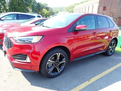 Ruby Red 2019 Ford Edge ST AWD